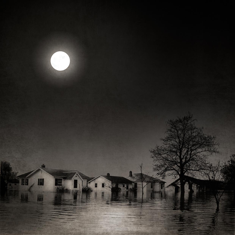 Full Moon Flood Waters © Carol Mollhagen Erb