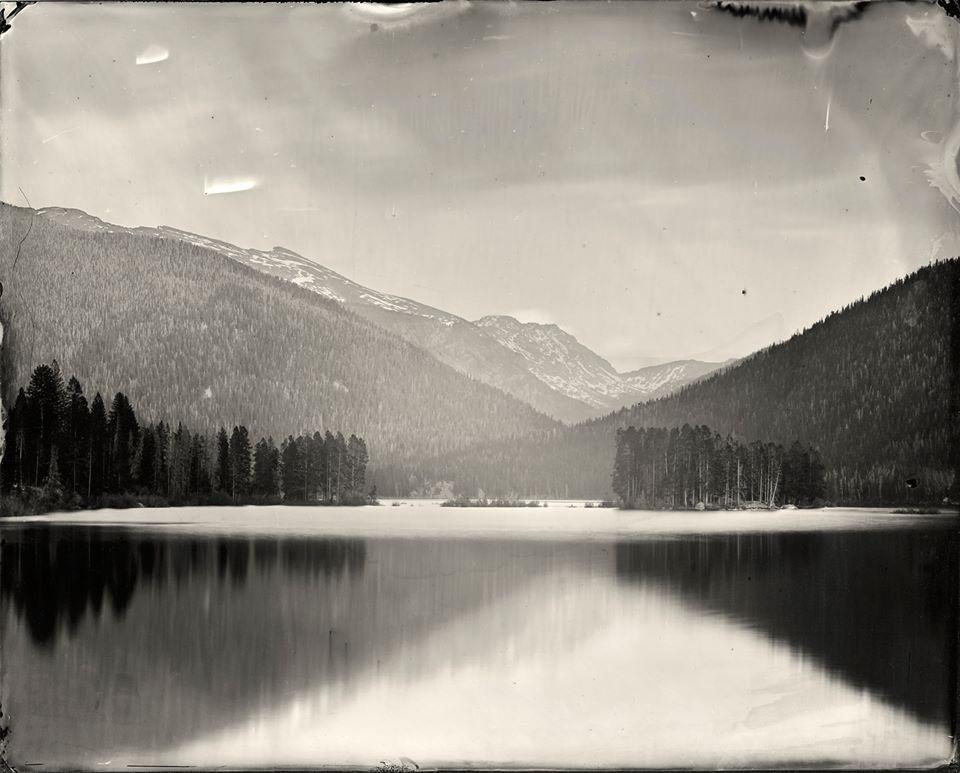 Monarch Lake, tintype © Denis Roussel