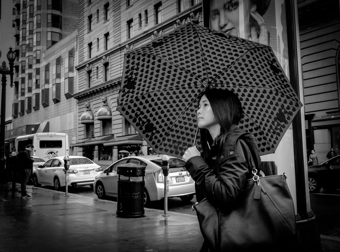 O'Farrell St Umbrella © David Clarkson