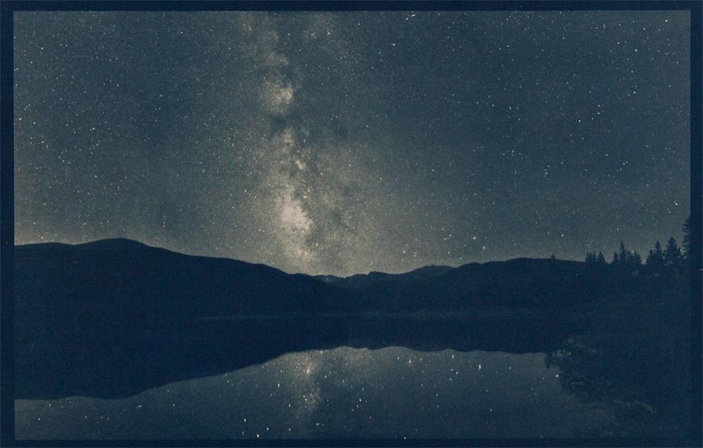 Echo Lake, cyanotype © Denis Roussel