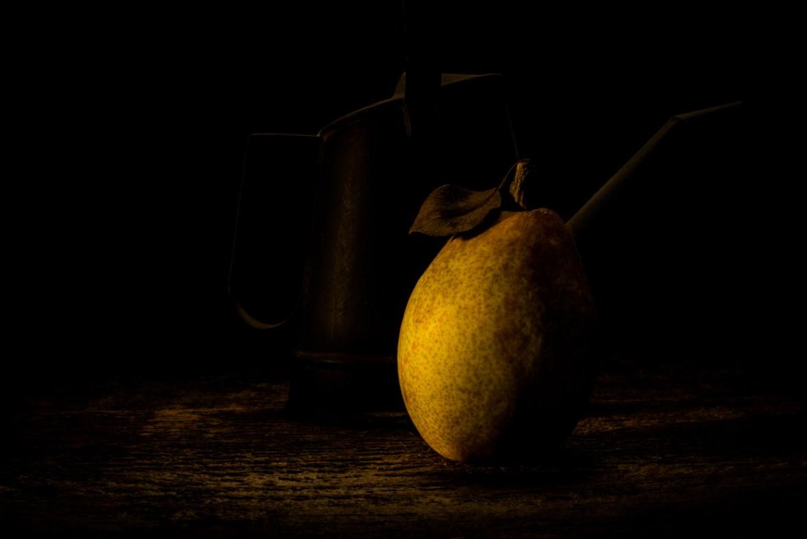 Pear and Watering Can © Barbara Moon Batista