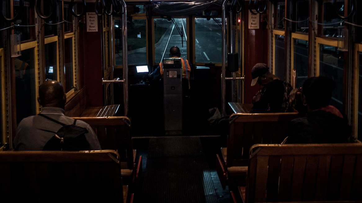 Streetcar Inside © Christoper Bryson