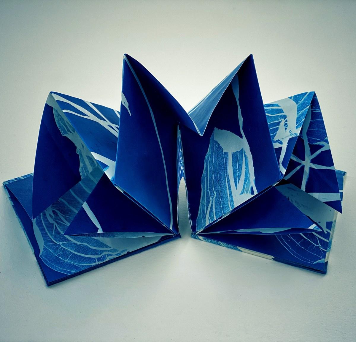 Hosts,Origami Accordion Book © Diana Bloomfield