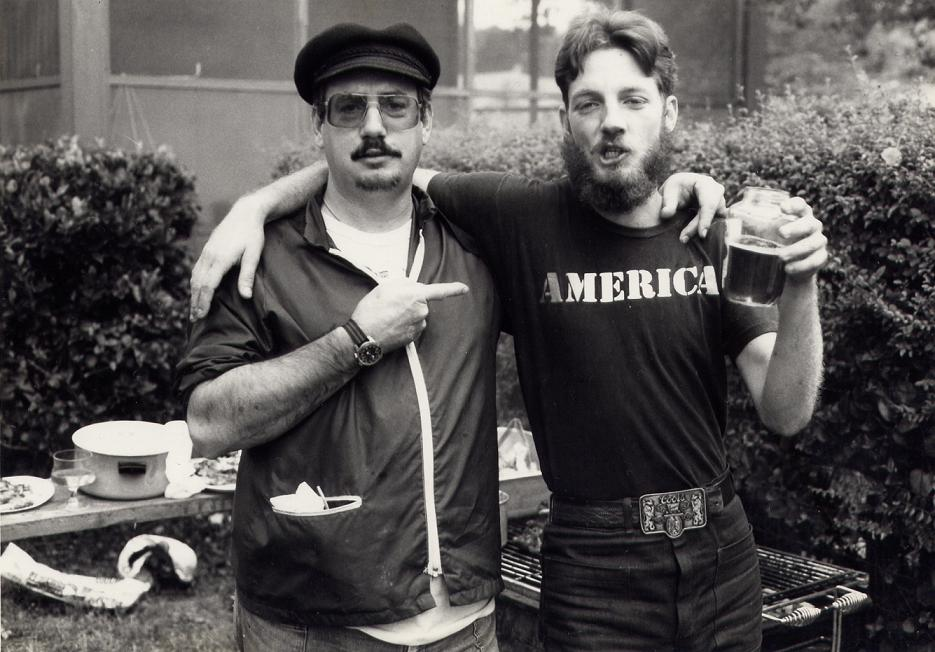 Myself and Kirby circa 1980