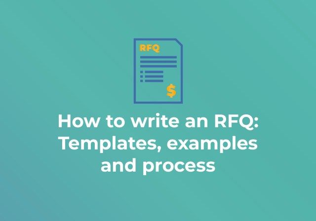 How to Write an RFQ: Templates, Examples and Process - RFP21