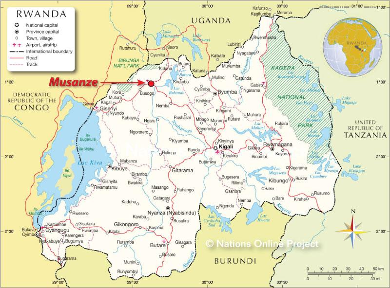 MapRwanda