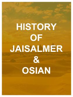 Jaisalmer & Osian