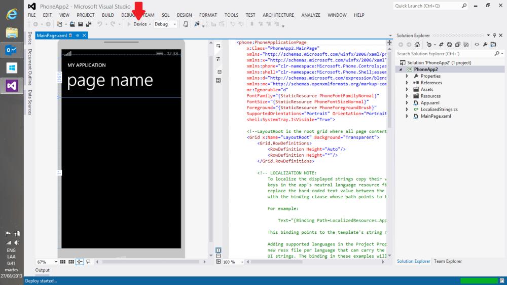 Desbloqueando Windows Phone [para desarrollo] (5/6)