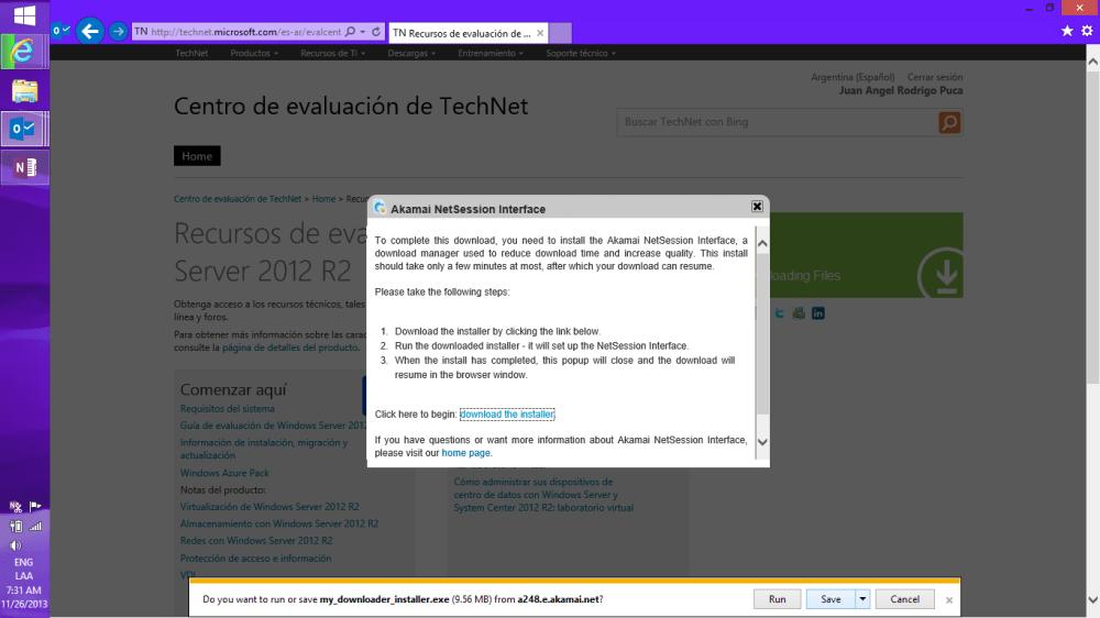 Descargando Windows Server 2012 R2 + SC [ISO] (6/6)