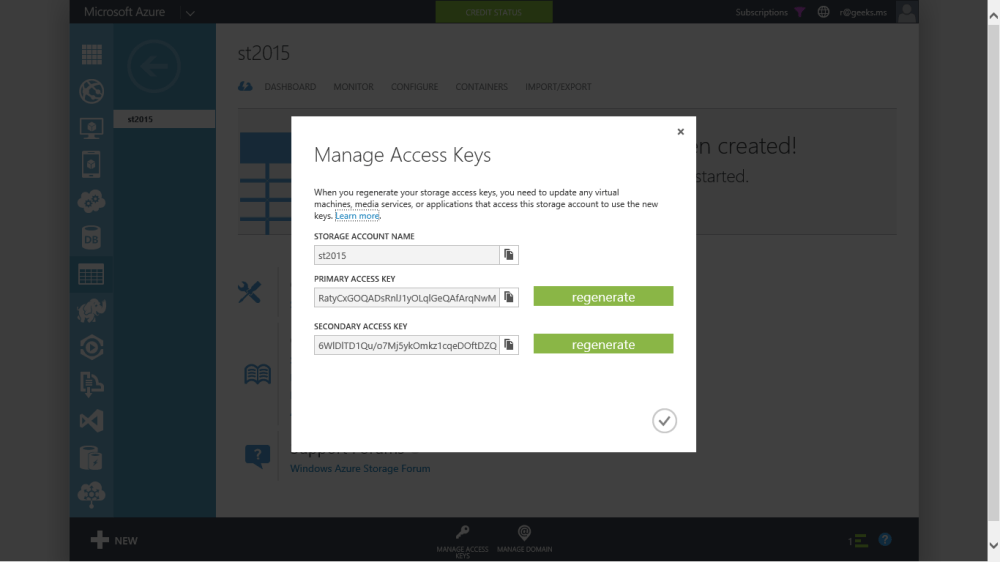 Conociendo a Azure Storage Explorer en la Web! (2/6)