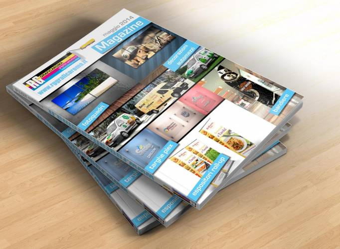 Magazine e cataloghi