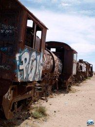 Cementério de Trenes / Cemitério de Trens - RG Local