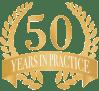 RGLZ 50 year Logo