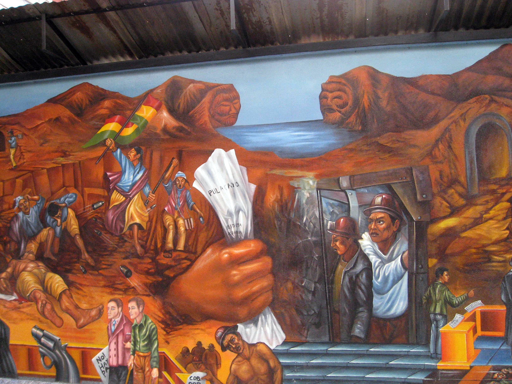 Ma se anche abbelliste il muro esterno di una casa con un dipinto, non sarebbe ancora un murale se attraverso le sue forme non trasmettesse un messaggio,. The Geographical Journal Wiley Online Library
