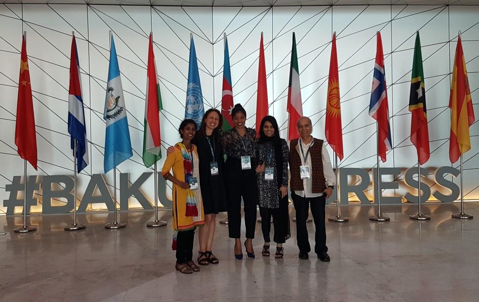 Rebekah Shirley at the United Nations Baku
