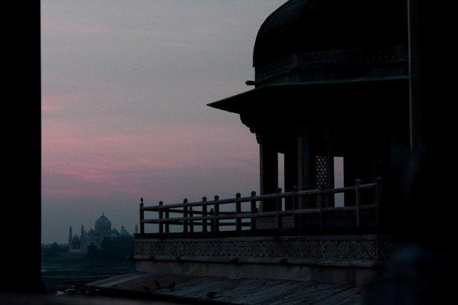 Agra fort and Tajmahal