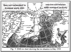 Sea ice used to extend much further in early 20C