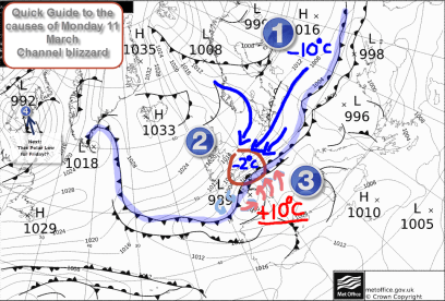 Synoptic Chart: 11 March