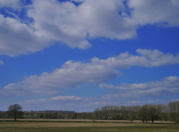 street view: stratocumulus cloud streets