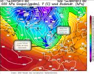 cooler polar airmass
