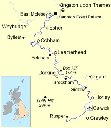 River Mole catchment