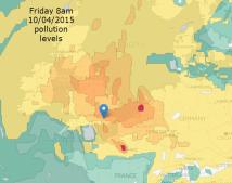 air pollution maps