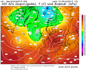 spanish plume 500hpa