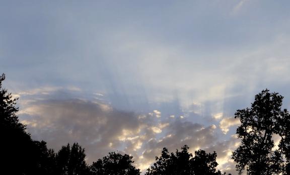 altcumulus castellanus sunset