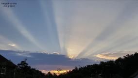 dawn on July 1