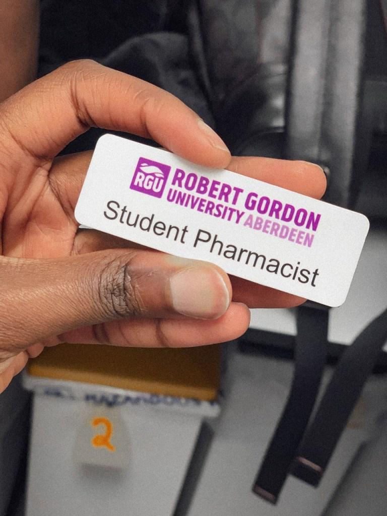 RGU student pharmacist
