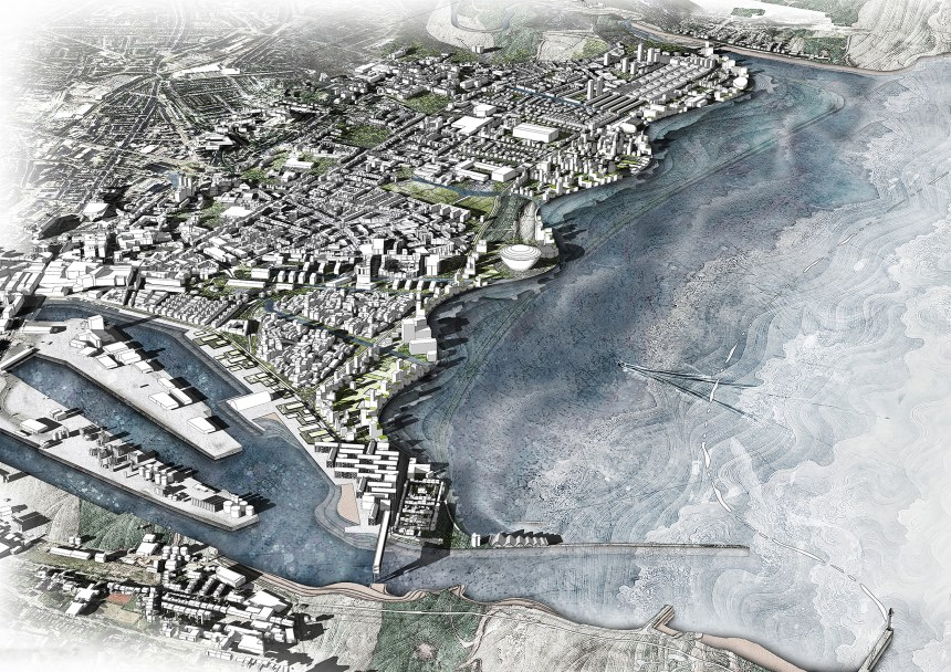 After flooding - Drawn North Virtual Architecture Exhibition