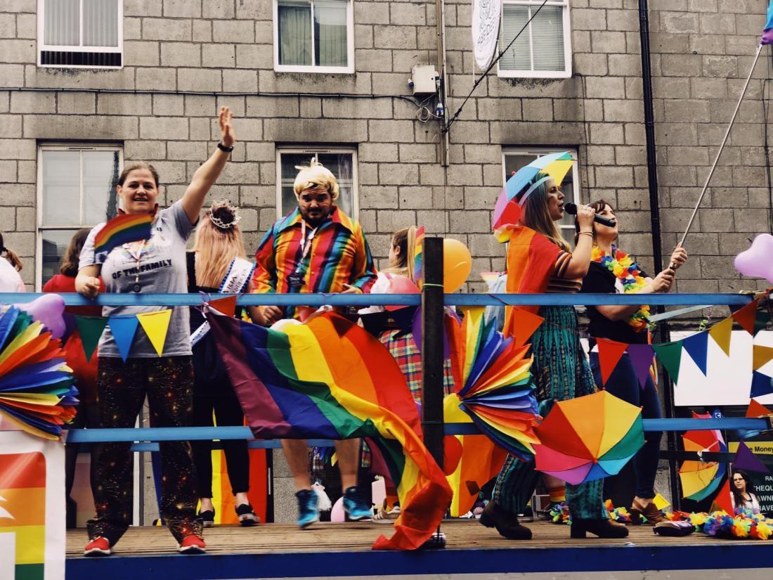 RGU Float at Grampian Pride 2019