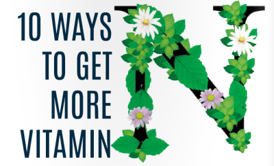 Get more Vitamin N- Nature!