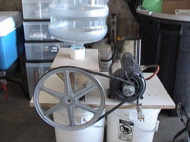 Motorized JSP Malt Mill