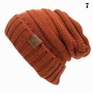 Knitting Caps Casual Hat
