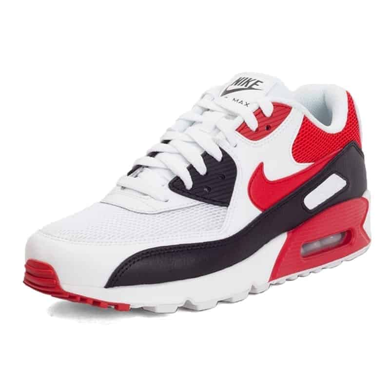 2016 NIKE AIR MAX 90 Fireflies Men Running Shoes Red wine white