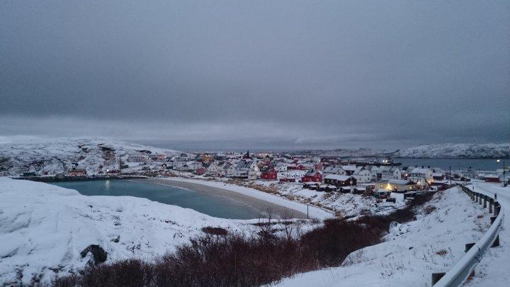 Reaching the Arctic Ocean.