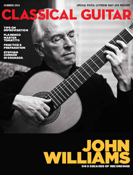 Classical Guitar Magazine Summer 2016