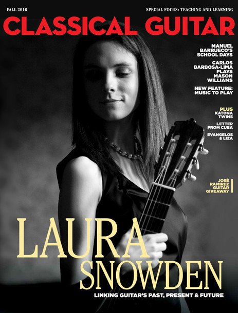 Classical Guitar Magazine Fall 2016