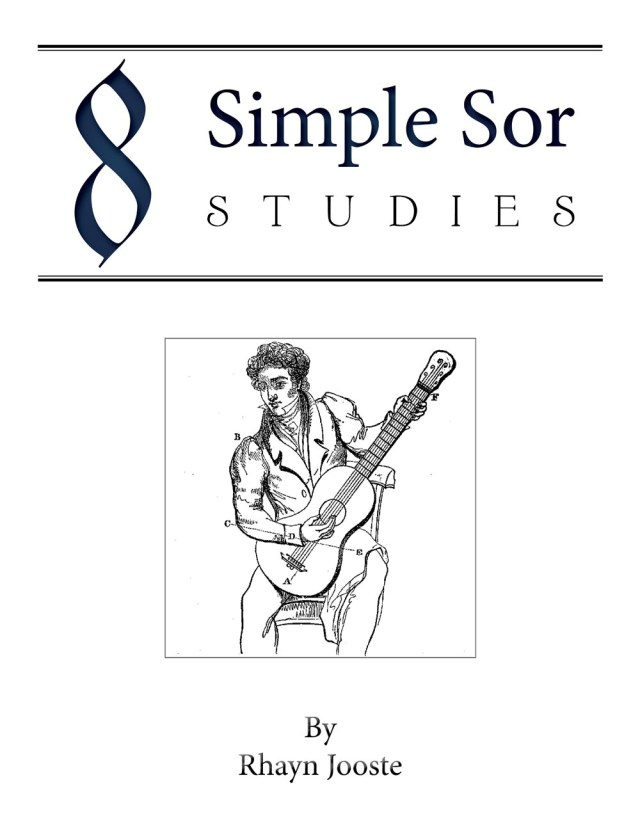 8 Simple Sor Studies Digital Cover rhayn jooste