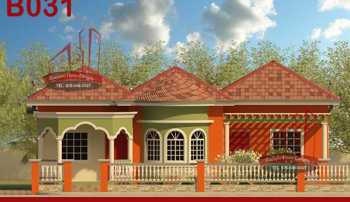 Small Jamaica House - Three Bedroom House Designs In Jamaica Mimiku ...