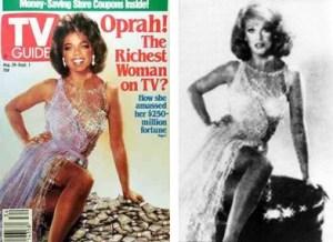 TV Guide cover: Oprah
