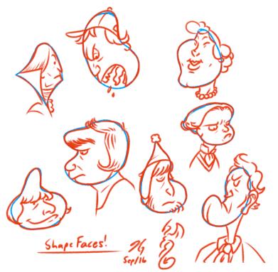 Shape Faces, pt. 2