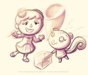 Peanut & Me – Sketch