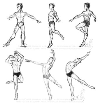 Figure Studies – Dance Benji 03