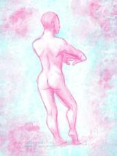 Pink Pose