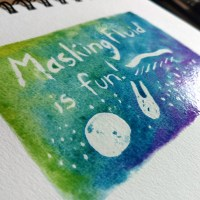 Watercolour Basics: Masking Fluid