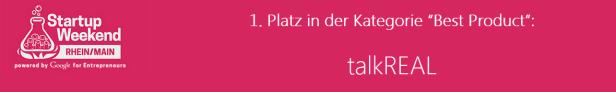 tR-Winner-Startup-weekend-RheinMain-talkreal
