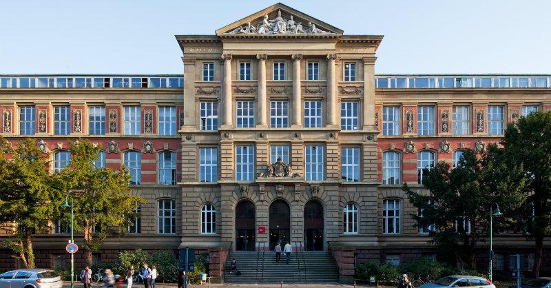 TU Darmstadt altes Hauptgebäude