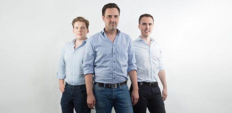 Bettzeit - The founders: Max Laarmann, Manuel Müller and Dennis Schmoltzi